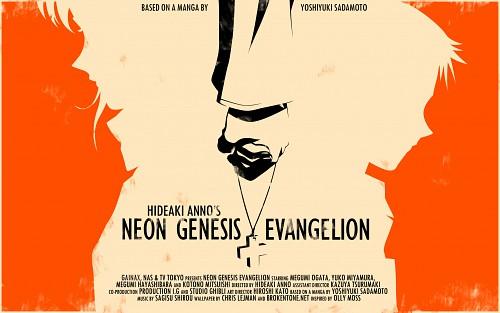 Yoshiyuki Sadamoto, Gainax, Neon Genesis Evangelion, Shinji Ikari, Misato Katsuragi Wallpaper