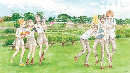 Ichigo Takano, Orange (Series), Azusa Murasaka, Kakeru Naruse, Saku Hagita