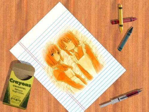 TYPE-MOON, Shingetsutan Tsukihime, Kohaku (Shingetsutan Tsukihime), Hisui (Shingetsutan Tsukihime) Wallpaper