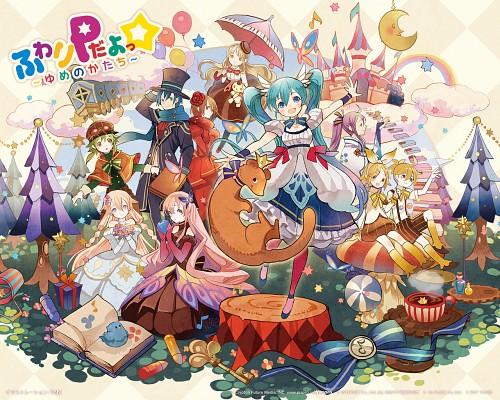 Tobi (Mangaka), Vocaloid, Rin Kagamine, Miku Hatsune, Mayu (Vocaloid)