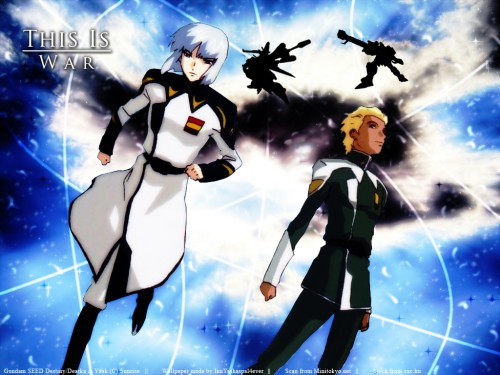 Sunrise (Studio), Mobile Suit Gundam SEED Destiny, Dearka Elthman, Yzak Joule Wallpaper