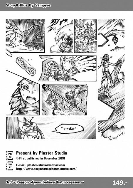 Manga Panels, Original, Member Art