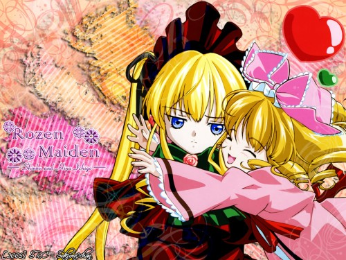 Peach-Pit, Studio Nomad, Rozen Maiden, Hinaichigo, Shinku Wallpaper