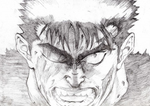 Kentaro Miura, OLM Digital Inc, Berserk, Guts, Member Art