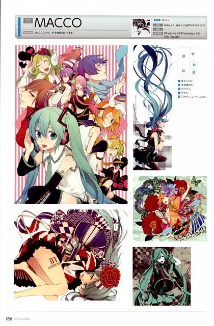 Macco, Pixiv Nenkan Official Book 2010, Vocaloid, Miku Hatsune, Pixiv