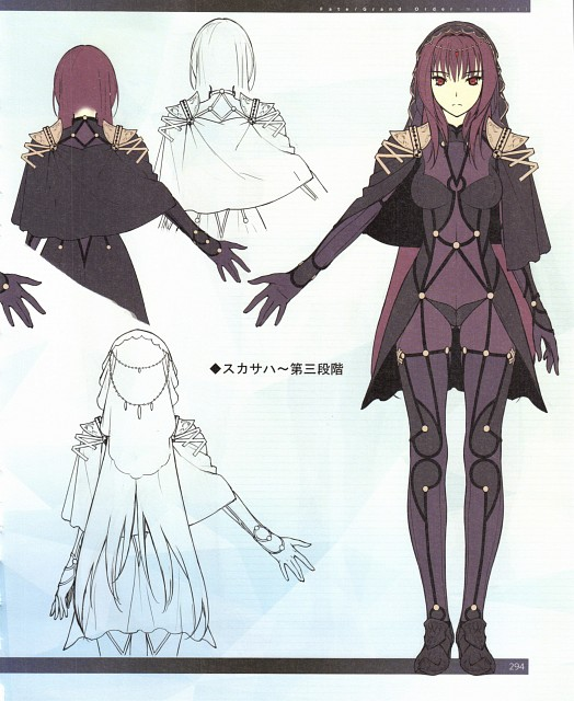 DELiGHTWORKS, TYPE-MOON, Fate/Grand Order, Scathach, Character Sheet