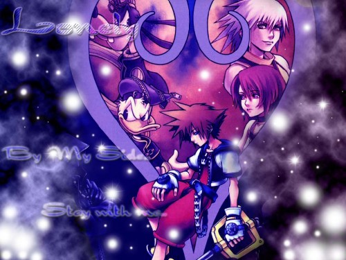 Square Enix, Kingdom Hearts, Riku, Sora, Donald Duck Wallpaper