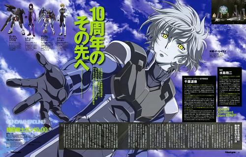 Michinori Chiba, Sunrise (Studio), Mobile Suit Gundam 00, Setsuna F. Seiei, Magazine Page
