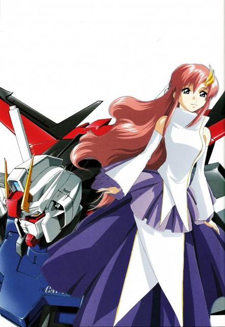 Hisashi Hirai, Sunrise (Studio), Mobile Suit Gundam SEED, Hisashi Hirai Illustration Works, Lacus Clyne