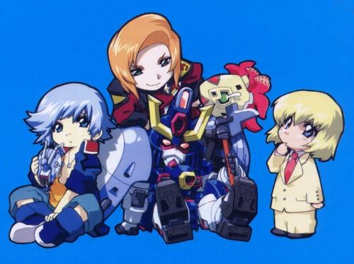 RGB, Mobile Suit Gundam SEED Destiny, Heine Westenfluss, Rey Za Burrel, Auel Neider