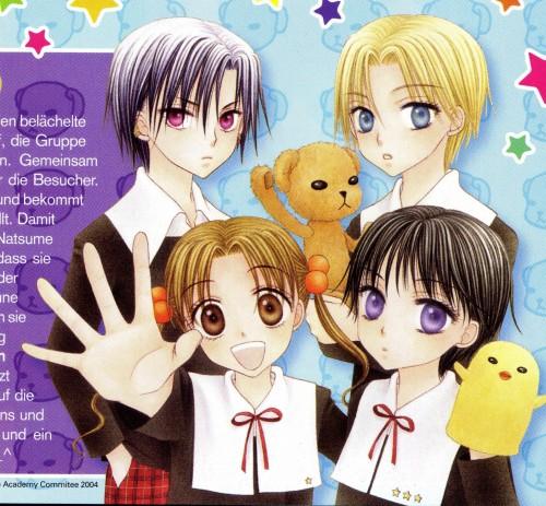 Tachibana Higuchi, Group TAC, Gakuen Alice, Natsume Hyuuga, Ruka Nogi