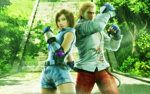 Namco, Tekken, Asuka Kazama, Steve Fox Wallpaper
