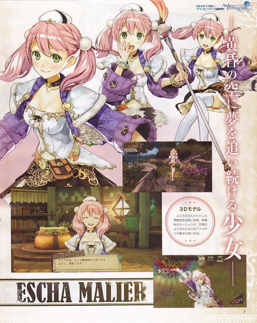 Hidari, Gust, Studio Gokumi, Atelier Escha & Logy, Escha Malier