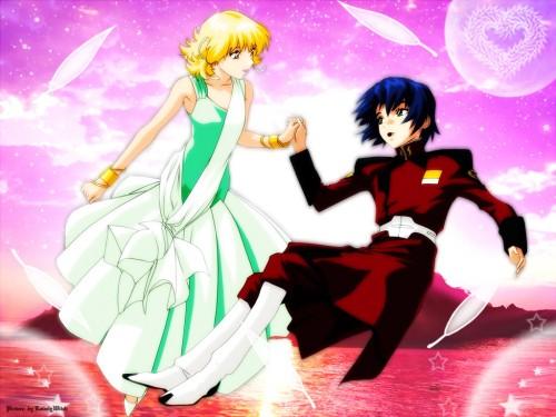 Sunrise (Studio), Mobile Suit Gundam SEED, Athrun Zala, Cagalli Yula Athha Wallpaper
