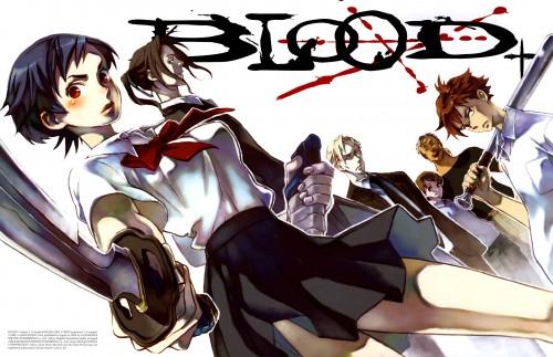 Production I.G, Blood+, Hagi, George Miyagusuku, Saya Otonashi