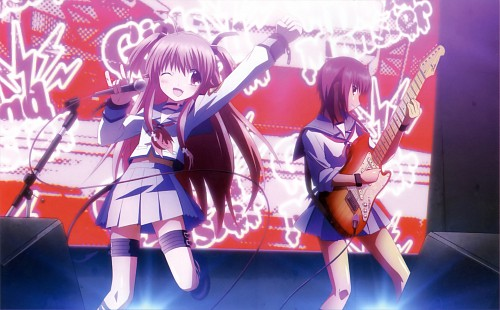 Hiroyuki Hashimoto, Key (Studio), Angel Beats!, Angel Beats! Official Guide Book, Yui (Angel Beats!)