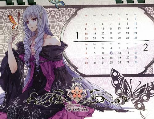 Kagerou Usuba, Idea Factory, Reine des Fleurs, Violette (Reine Des Fleurs), Calendar