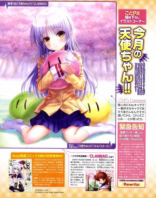 Goto-P, Angel Beats!, Clannad, Kanade Tachibana, Yuri Nakamura