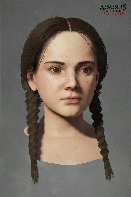 Ubisoft, Assassin's Creed Syndicate, Clara O'dea, Official Digital Art