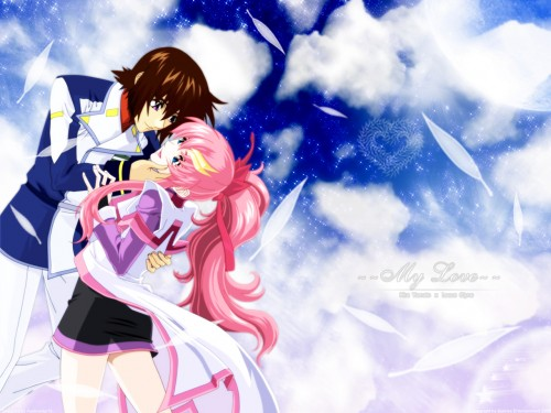 Sunrise (Studio), Mobile Suit Gundam SEED Destiny, Lacus Clyne, Kira Yamato Wallpaper
