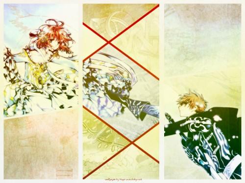 CLAMP, Bee Train, Tsubasa Reservoir Chronicle, Syaoran Li, Sakura Kinomoto Wallpaper