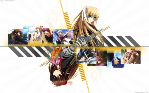 J.C. Staff, Key (Studio), Little Busters, Haruka Saigusa, Saya Tokido Wallpaper
