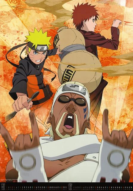 Studio Pierrot, Naruto, Gaara, Naruto Uzumaki, Killer Bee