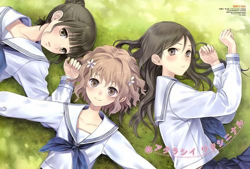 Mel Kishida, Hanasaku Iroha, Minko Tsurugi, Ohana Matsumae, Nako Oshimizu
