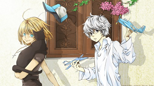 Yunico, Madhouse, Death Note, Mello, Near Wallpaper