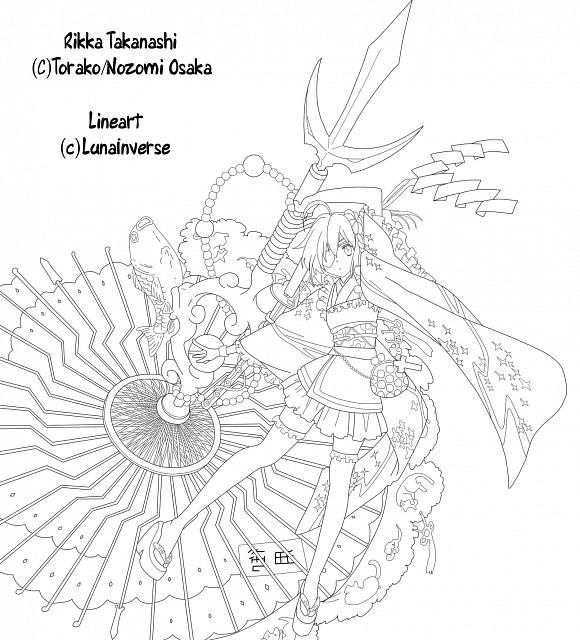 Nozomi Ousaka, Kyoto Animation, Chuunibyou demo Koi ga Shitai!, Rikka Takanashi, Vector Art