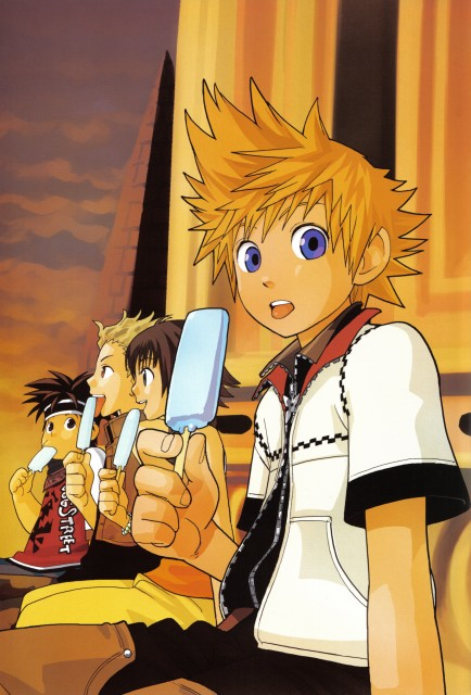 Shiro Amano, Square Enix, Art Works Kingdom Hearts, Kingdom Hearts, Roxas