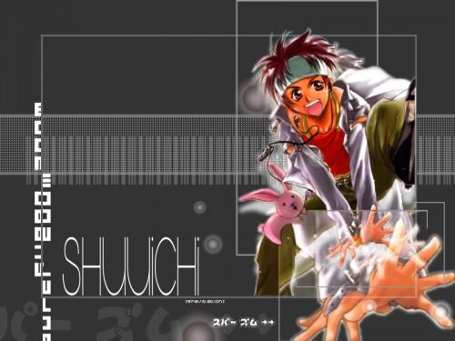 Maki Murakami, Studio Deen, Gravitation, Shuichi Shindou, Kumagoro Wallpaper