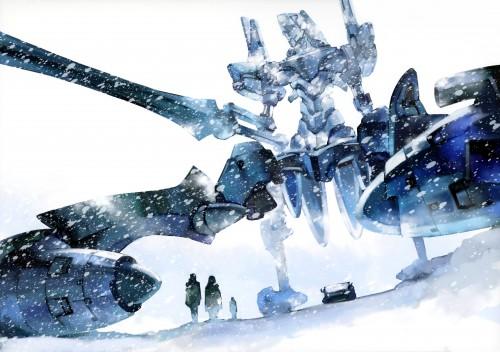 Ikuto Yamashita, Gainax, Khara, Neon Genesis Evangelion, Neon Genesis Evangelion - 03-2010 - 02-2011 Khara Calendar