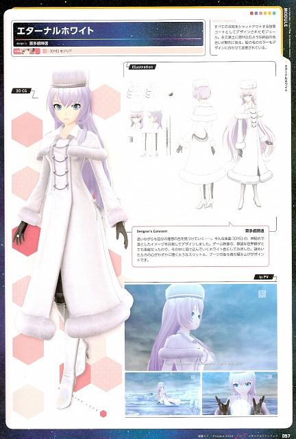 Project Diva F & F Memorial Fan Book, Vocaloid, Luka Megurine, Character Sheet