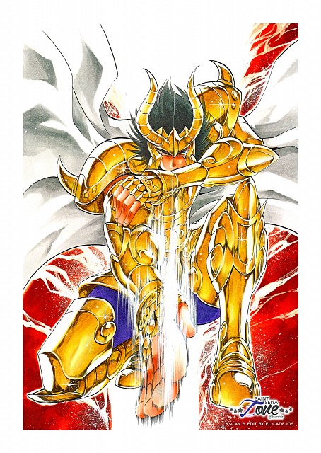 Shiori Teshirogi, TMS Entertainment, Saint Seiya: The Lost Canvas, Capricorn El Cid