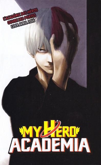 Kouhei Horikoshi, BONES, Boku no Hero Academia, Shouto Todoroki