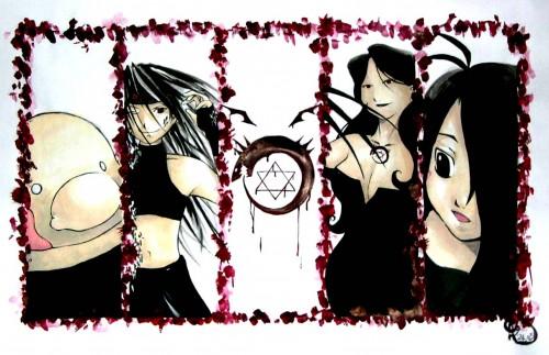 Hiromu Arakawa, BONES, Fullmetal Alchemist, Wrath, Gluttony