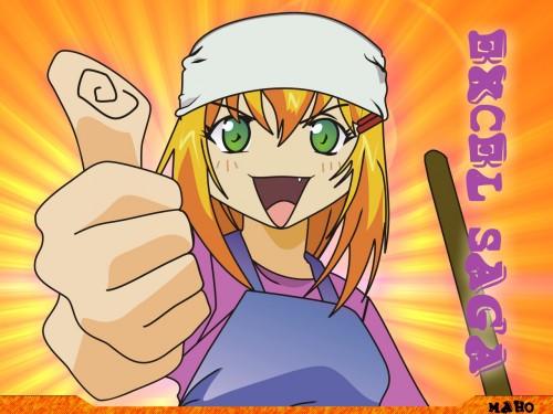 Koshi Rikudo, J.C. Staff, Excel Saga, Excel Wallpaper
