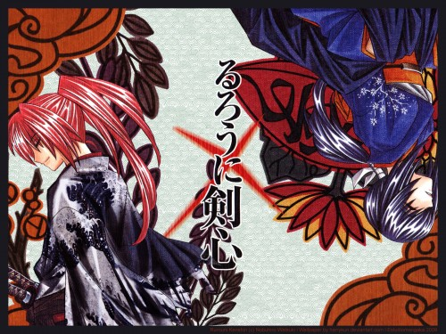 Rurouni Kenshin, Tomoe Yukishiro, Kenshin Himura Wallpaper