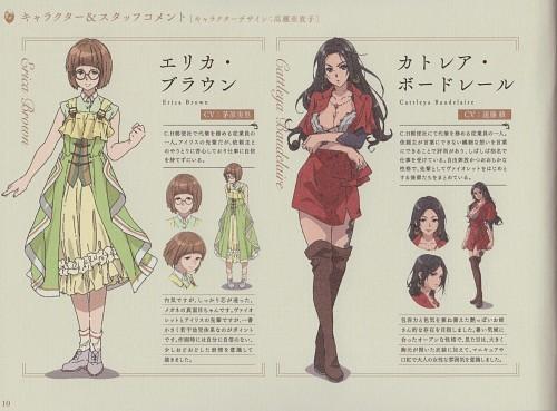 Akiko Takase, Kyoto Animation, Violet Evergarden, Erica Brown, Cattleya Baudelaire