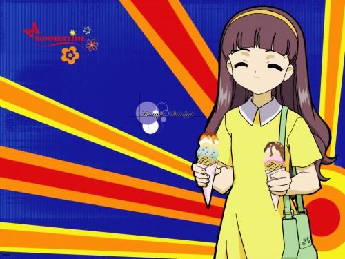 CLAMP, Madhouse, Cardcaptor Sakura, Tomoyo Daidouji, Vector Art Wallpaper