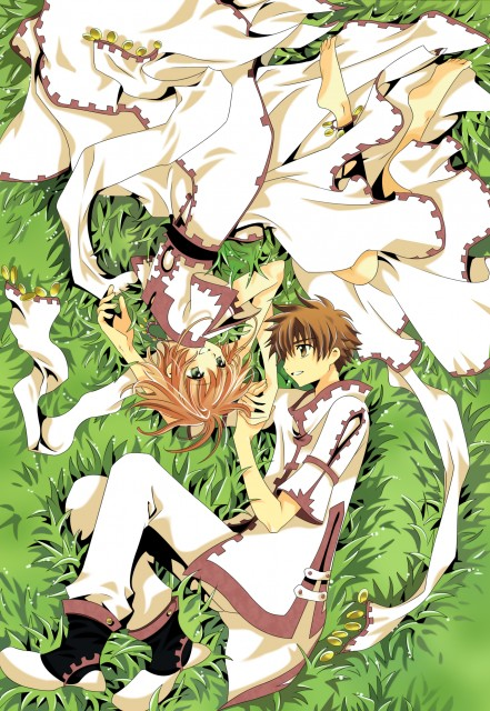 CLAMP, Tsubasa Reservoir Chronicle, Sakura Kinomoto, Syaoran Li, Vector Art
