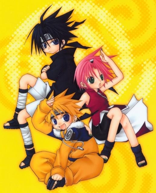 Naruto, Sakura Haruno, Naruto Uzumaki, Sasuke Uchiha, Pencil Board