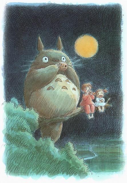 Hayao Miyazaki, Studio Ghibli, My Neighbor Totoro, Satsuki Kusakabe, Mei Kusakabe