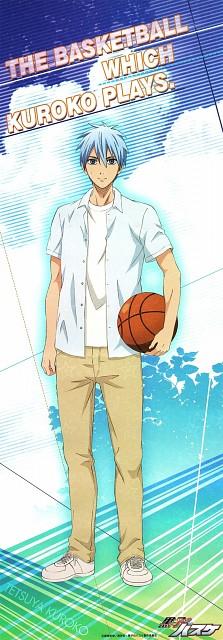 Tadatoshi Fujimaki, Production I.G, Kuroko no Basket, Tetsuya Kuroko, Stick Poster