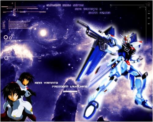 Sunrise (Studio), Mobile Suit Gundam SEED, Mobile Suit Gundam SEED Destiny, Kira Yamato, Shinn Asuka Wallpaper