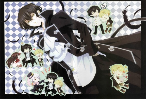 Pandora Hearts, Xerxes Break, Gilbert Nightray, Alice (Pandora Hearts), Oz Vessalius