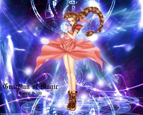 Square Enix, Final Fantasy VII, Aerith Gainsborough Wallpaper