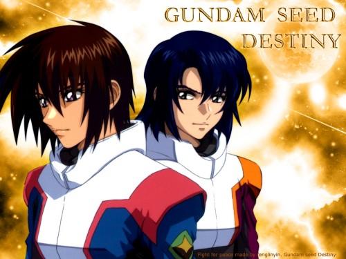 Sunrise (Studio), Mobile Suit Gundam SEED Destiny, Athrun Zala, Kira Yamato Wallpaper