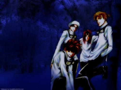 Kazuya Minekura, Studio Pierrot, Saiyuki, Genjyo Sanzo, Son Goku (Saiyuki) Wallpaper